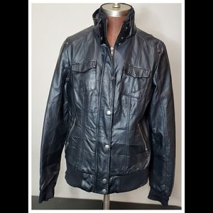 Rock&Roll Cowgirl Faux Leather Jacket